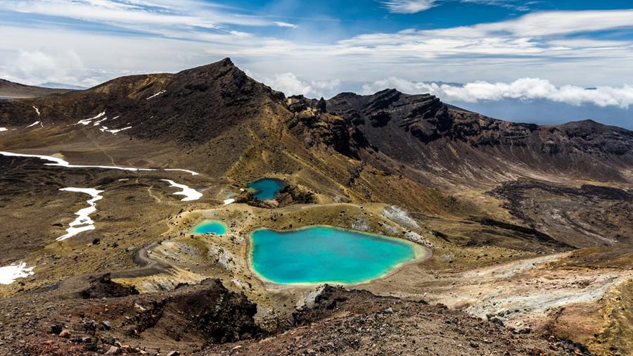 Emerald Lakes - Nieuw Zeeland - Photo: Desenho Vormgeving