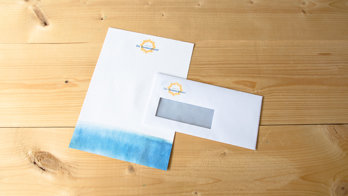 Yoga Briepap Envelop