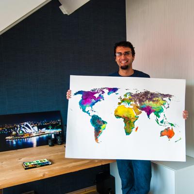 Tropical Wereldkaart