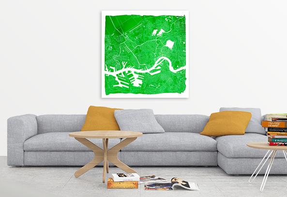 Rotterdam Vierkant Groen