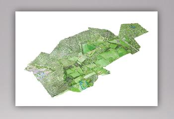 1 Landkaart Aquarel
