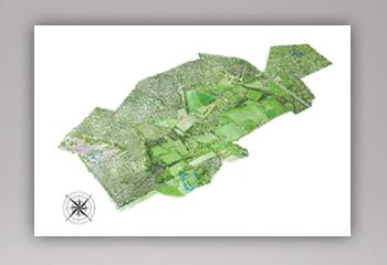 2 Landkaart Aquarel