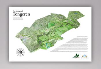 3 Landkaart Aquarel