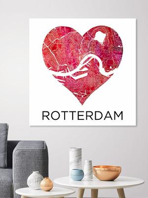 Spotlight-Rotterdam in een Hart